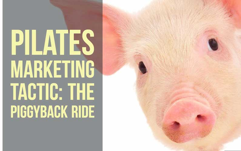 piggy back ride pilates marketing