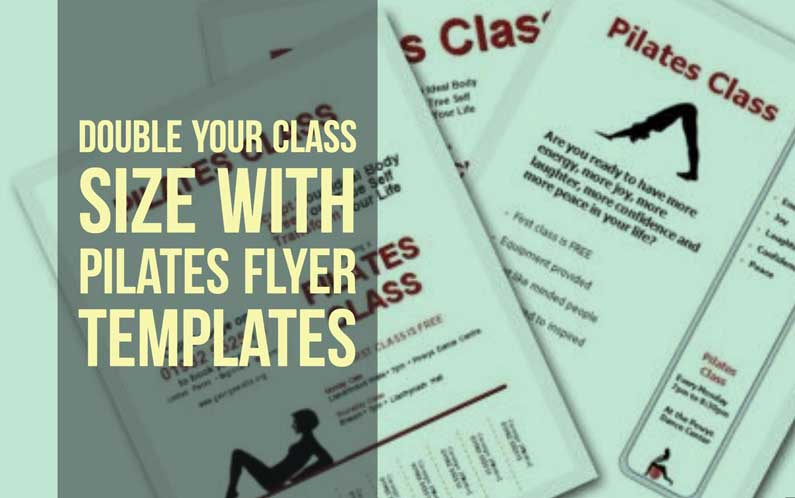 Pilates Flyer Templates: Double Your Class Size