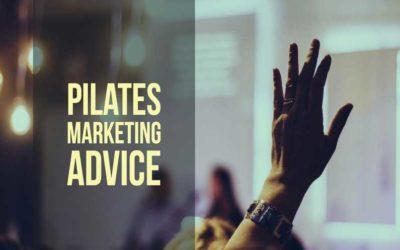 Free Pilates Marketing Advice With 8 Marketing Tactics